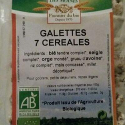 Galettes 7 céréales (Moulin des moines)