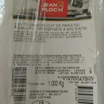 Jambon cuit de paris (Jean floc'h)