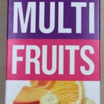 100% pur jus fruit pressé multi fruits (Monoprix)