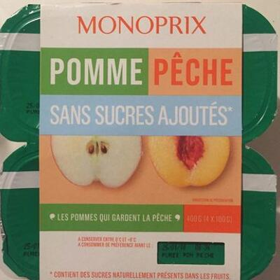 Pomme pêche ssa (Monoprix)