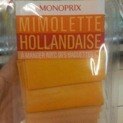 Mimolette en tranches (Monoprix)