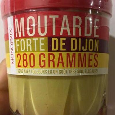 Moutarde forte de dijon (Monoprix)