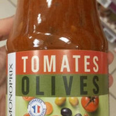 Sauce tomate olives (Monoprix)