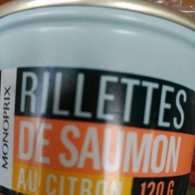 Rillettes de saumon au citron (Monoprix)