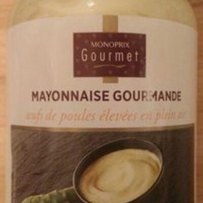 Mayonnaise gourmande (Monoprix gourmet)