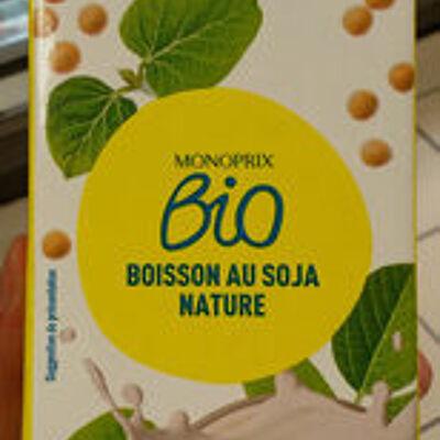 Boisson au soja nature (Monoprix bio)