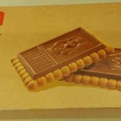 Biscuits avec tablette au chocolat au lait (Monoprix p'tit prix)