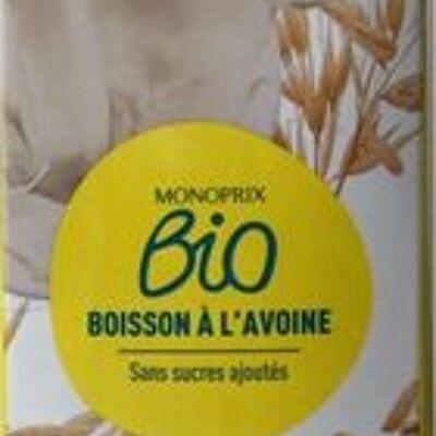 Boisson à l'avoine (Monoprix bio)