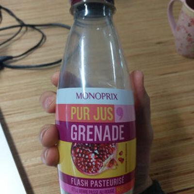 Pur jus de grenade (Monoprix)