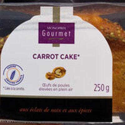 Cake aux carottes râpées (Monoprix gourmet)