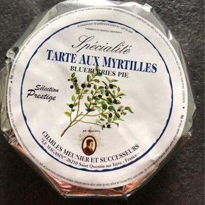 Tarte aux myrtilles (Charles meunier et successeurs)