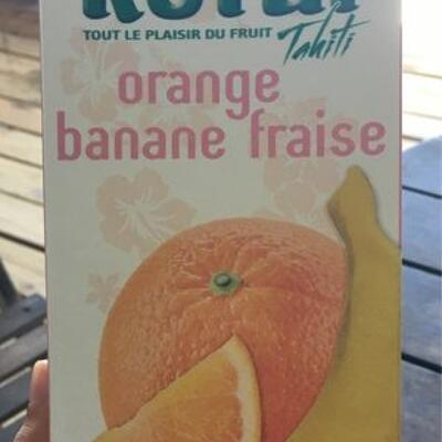 Rotu orange banane fraise (Rotui)