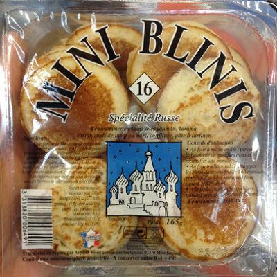 Mini blinis (Sans marque)
