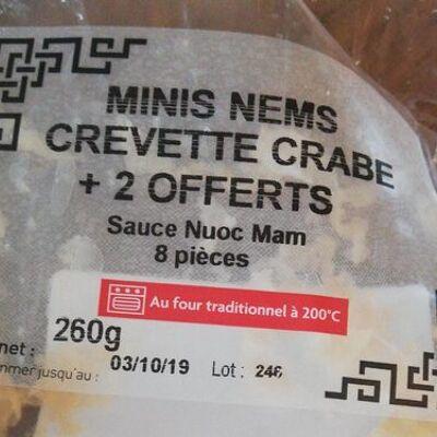 Minis nems crevette crabe (Agis)