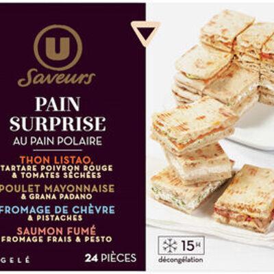 Pain surprise au pain polaire saveurs (U saveurs)