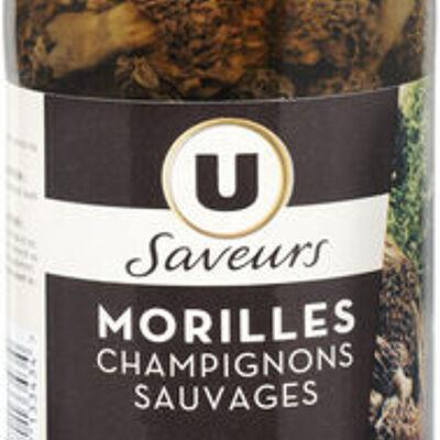 Morilles champignons sauvages saveurs (U saveurs)