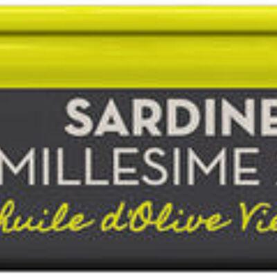 Sardines millésimées à l'huile d'olive vierge extra saveurs (U saveurs)