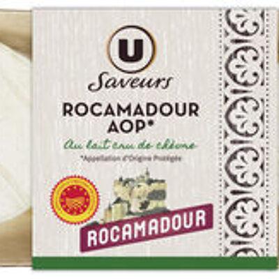 Rocamadour aop au lait cru de chèvre 22%mg (U saveurs)