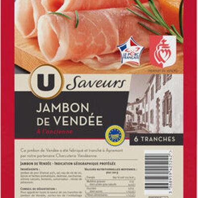 Jambon de vendée igp à l'ancienne (U saveurs)