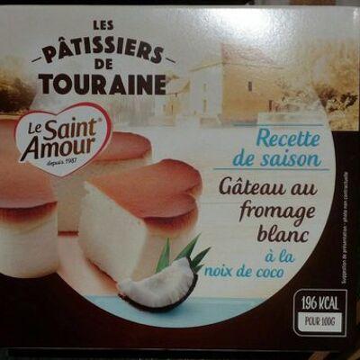 Gâteau au fromage blanc à la noix de coco (Le saint amour)