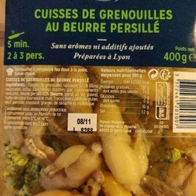 Cuisses de grenouilles au beurre persillé (La cuisine du poissonnier)