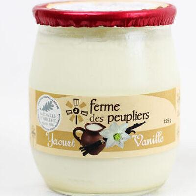 Yaourt vanille (Ferme des peupliers)