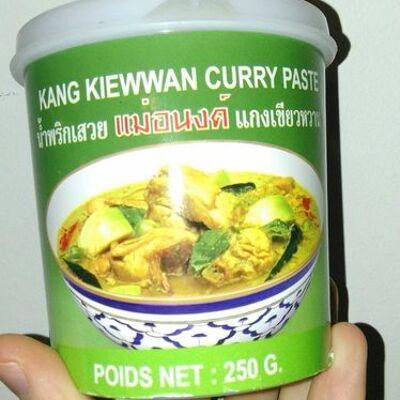 Kang kiewan curry paste (Mae anong brand)