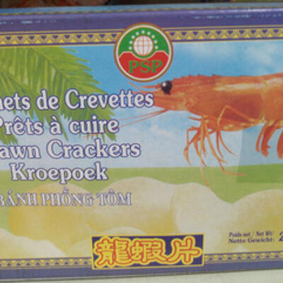 Beignets de crevettes prêts à cuire (Psp)
