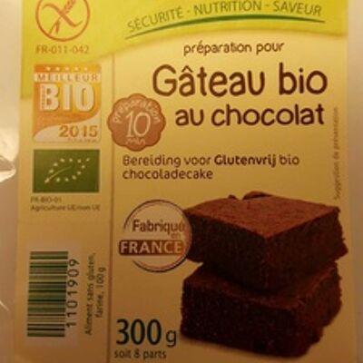 Préparation pour gâteau bio au chocolat (Ma vie sans gluten)