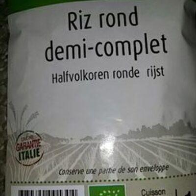 Riz rond demi complet italie (Priméal)