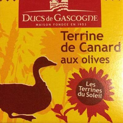 Terrine de canard aux olives (Ducs de gascogne)
