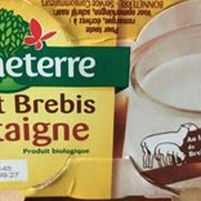 Yaourt brebis chataigne (Bonneterre)