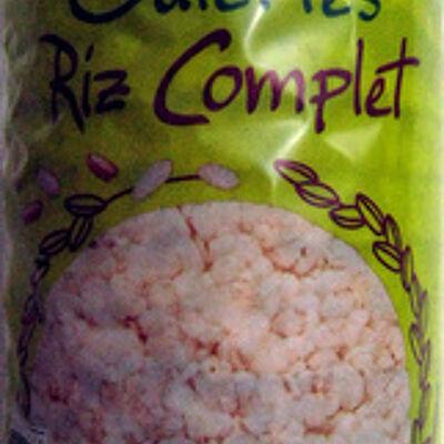 Galettes riz complet (Evernat)