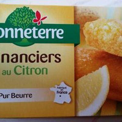 Financiers au citron (Bonneterre)