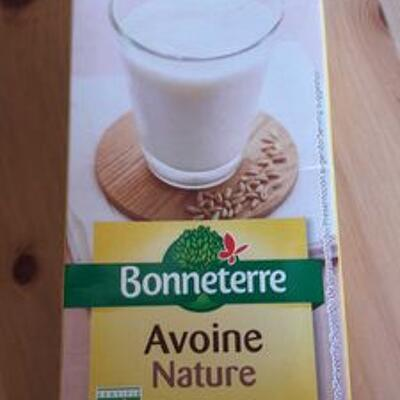 Lait avoine nature (Bonneterre)