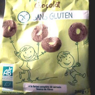 P'tits sablés chocolat sans gluten (Evernat)