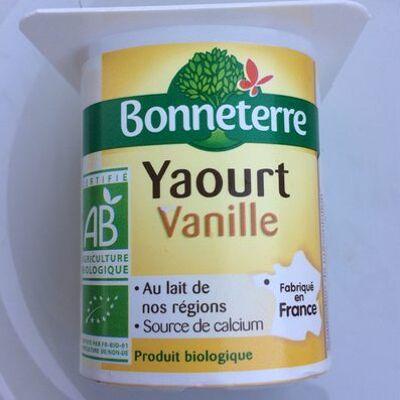 Yaourt vanille (Bonneterre)