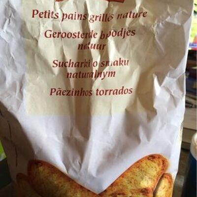 Petits pains grillés nature (Top budget)