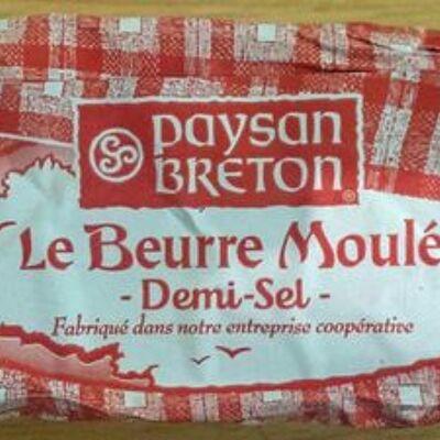 Beurre moulé demi-sel (Paysan breton)