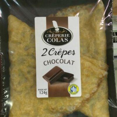 Crêpes chocolat (Crêperie colas)