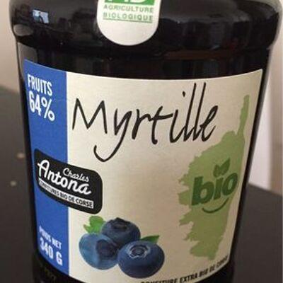 Confiture extra bio de myrtilles (Charles antona)