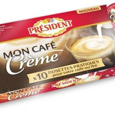 10 coupelles for tea and coffee (Président)