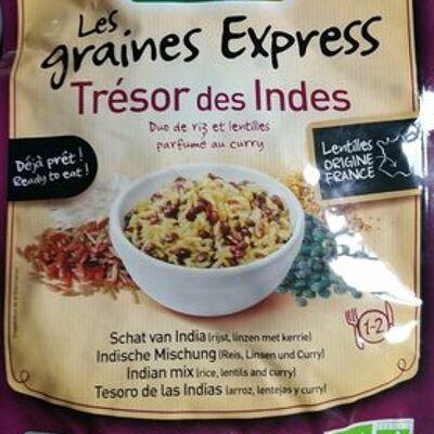 Les graines express trésor des indes (Danival)