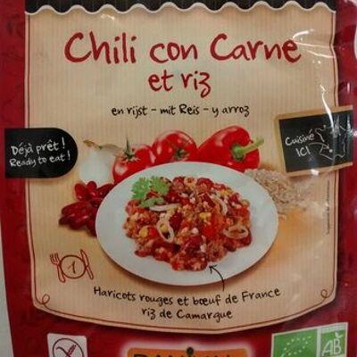 Chili con carne et riz (Danival)