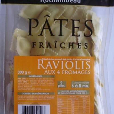 Raviolis aux 4 fromages (Rochambeau)
