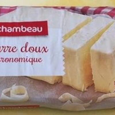 Beurre doux gastronomique (Rochambeau)
