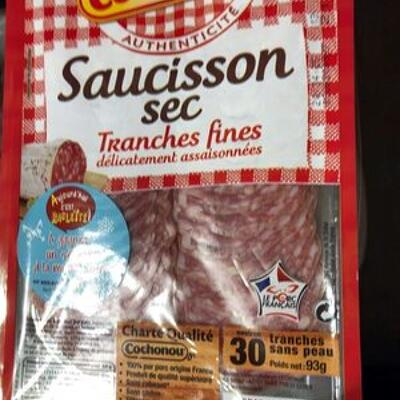 Saucisson sec - tranches fines (Cochonou)