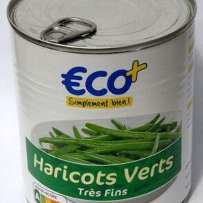 Haricots verts très fins (éco+)