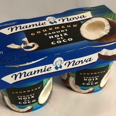 Yaourt gourmand - noix de coco (Mamie nova)