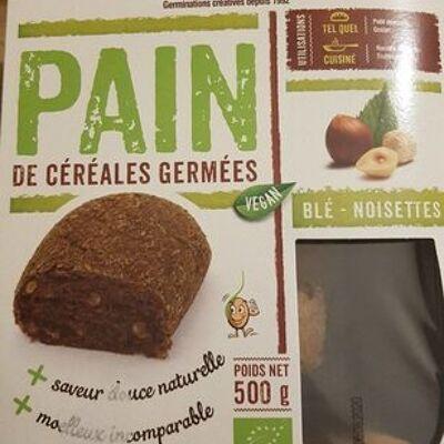 Pain de céréales germées 500g (Gaia)